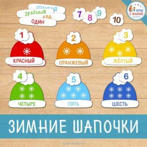 Зимние шапочки