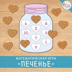 Математическая игра «Печенье»